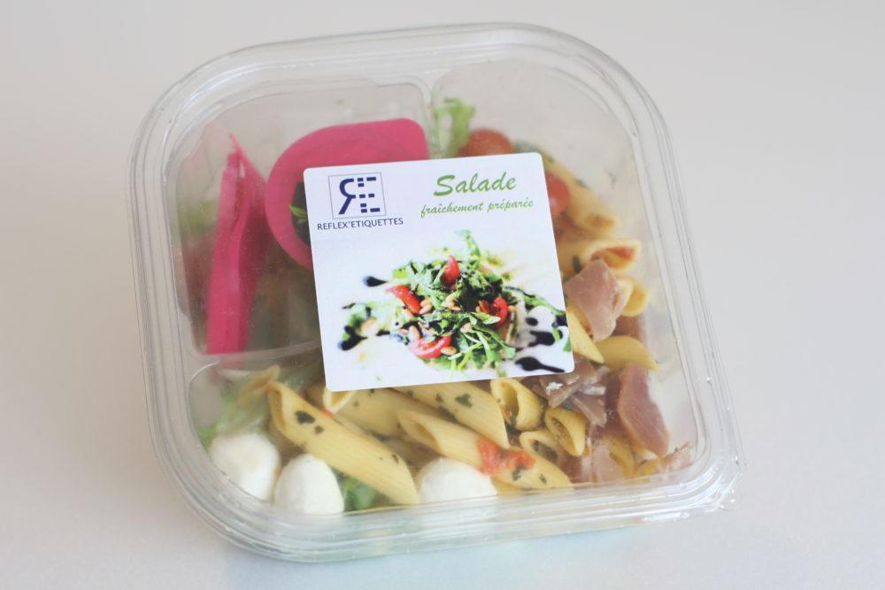 étiquettes alimentaires autocollantes Réflex'étiquettes